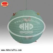 unique round chinese paper outdoor christmas decoration lanterns