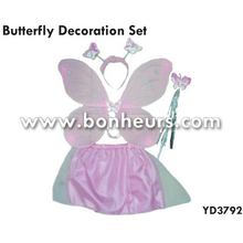New Novelty Toy Fairy Wing Decoration Butterfly Costume Set