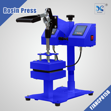 manual type rosin double sided heat press machine