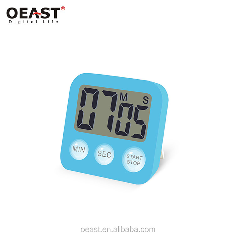 ABS cheaper digital timer with magnetic back