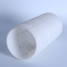 OD 50mm HDPE perforated and unperforated drain pipe