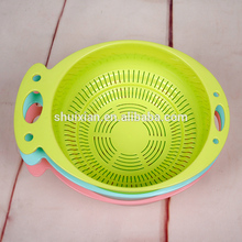 Convenient single layer PP material BN7146 Plastic basket plastic utility basket plastic handy baskets