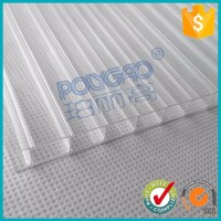 plastic types for roof,pc hollow sheet,hollow polycarbonate sheet 18mm