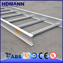 HDmann Good Quality Steel Telecom Cable Tray Ladder Support OEM