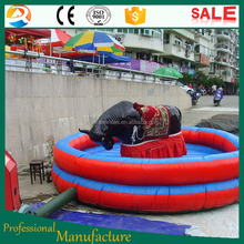 Funny inflatable game mechanical rodeo bull price for sale