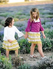 China manufacture boutique knitted cotton children's girl dress