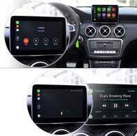 Multimedia car gps navigation system apple carplay audio interface for Mercedes