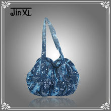 Handbag factory wholesale cheap printed cotton lady hand bag