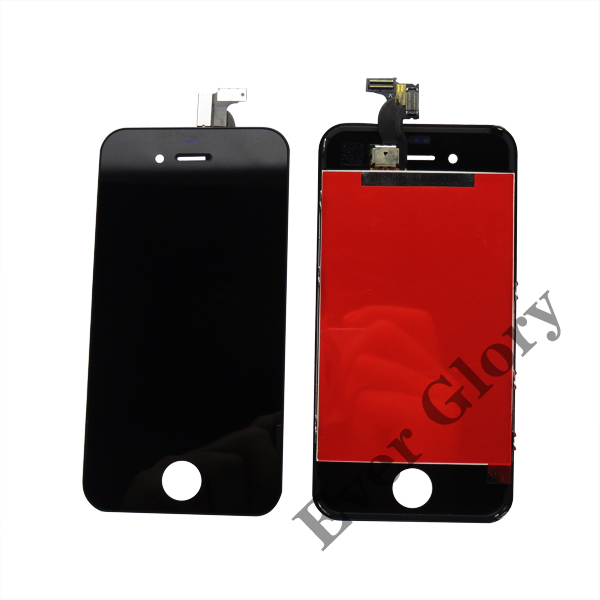 Best Quality Alibaba China Manufacturer LCD Display Touch Screen Digitizer Assembly For Apple iphone 4S Black