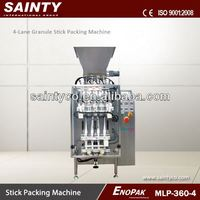 Packet Machinery 4-Lane Auto Form Fill Seal Stick Bag Package Machine