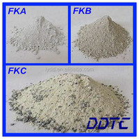High temperature induction furnace insulation refractory lining material