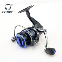 Chinese Fishing Tackle High Quality Small Mini Fishing Reel With Metal Spool Made In China Pesca GO1000