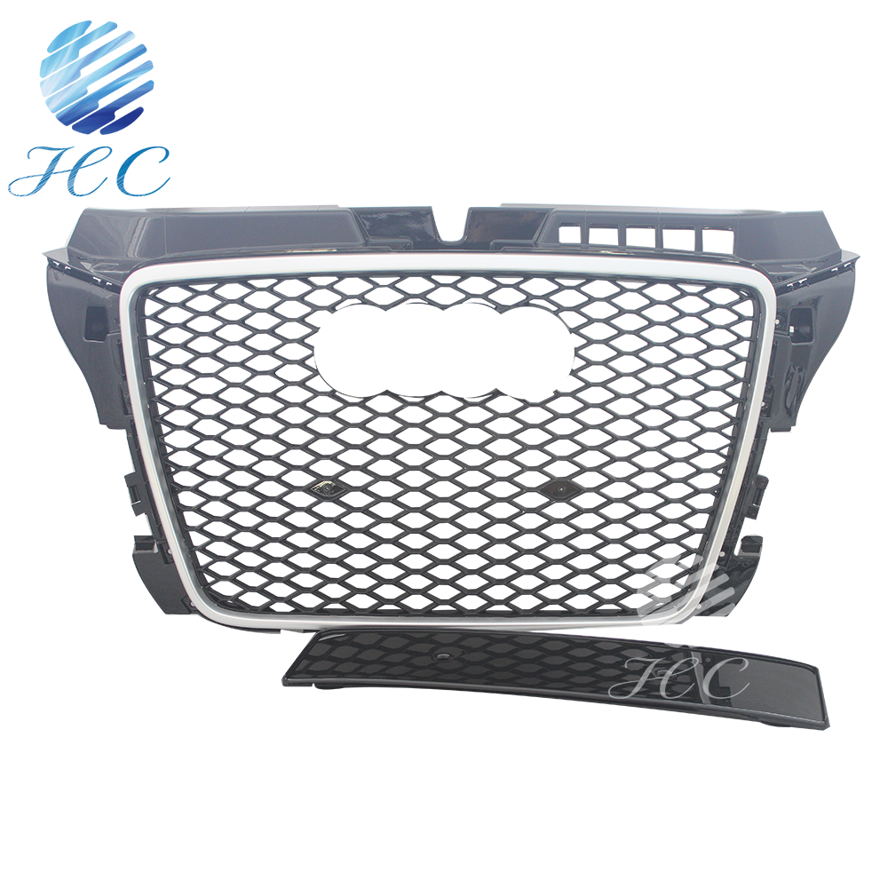 For audi A3 8p front grille 08-12 car body kits