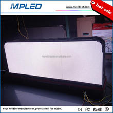 160x160mm led module P5 taxi roof led display with light sensor for Christmas celebration