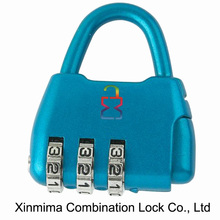 Small suitcase lock handbag bag shape padlock
