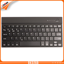 4mm Aluminum Wireless LED Backlit Illuminated Bluetooth 3.0 Keyboards for iPads/Surface Pro 3/4/Samsung tablets