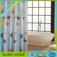 Beautiful Wholesale Flying Butterfly Shower Curtain Liner