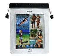 Eco-friendly pvc waterproof case for samsung galaxy tablet pc 10.1 with string