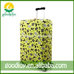 Cheap price luggage covers magnetic button , waterproof luggage cover