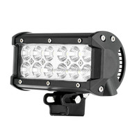 7 Inch 36W Led Light Bar For Harley Motorcycle , Car, ATV, SUV, Offroad, Jeep Wrangler