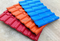 Blue color roof tile