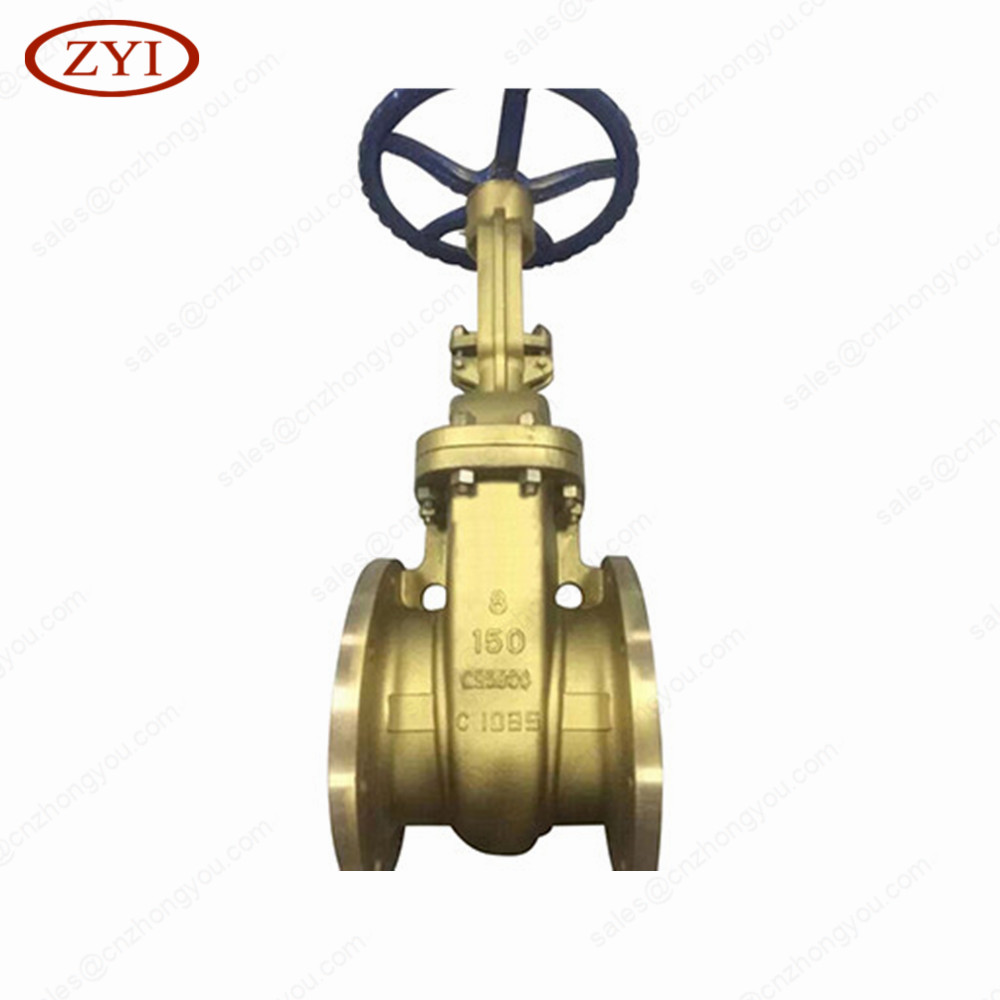 Factory directly sell aluminum bronze c95800 gate valve