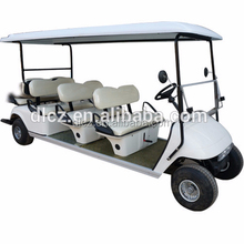 CE Approved 8 Passenger Electric Golf Cart for Sale