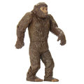 custom make plastic 3 3/4'' action figure, OEM design big foot savage vintage plastic action figures