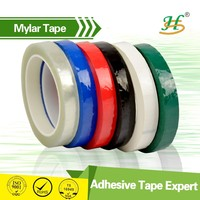 Flame Resistant 3M Polyester Film Mylar Adhesive Tape For Power Switch
