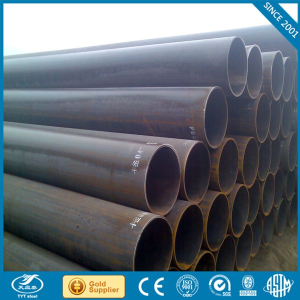 high precision slitting & cross-cutting machine carbon steel pipe price list q235 erw welded scaffolding tube