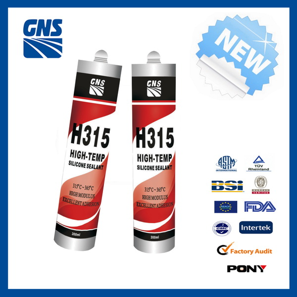 low volatility heat resistant silicone sealant g1200
