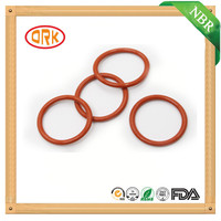 Elongation Red Rubber O Ring