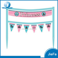 Cake Decoration Fashion Princess Cake Banner 6.5 x 5.75 inches Cake Decorating Supplies
