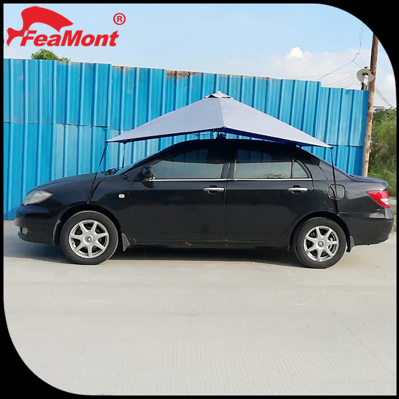 Customed with logo printing durable storage car tent,car awning tent