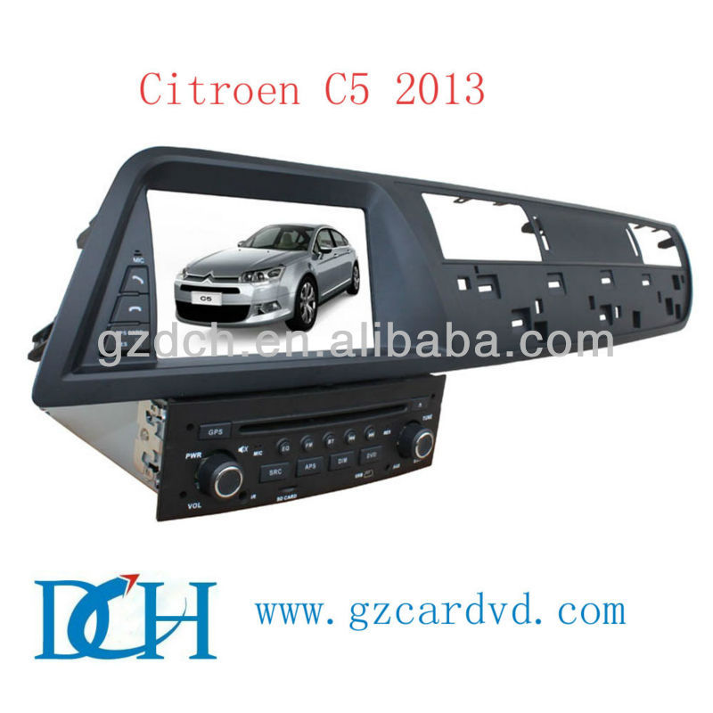 citroen c5 car dvd gps navigation system 2013 WS-9422