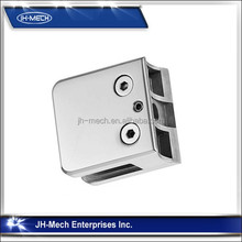 Top Rated Mirror And Satin Finished Stainless Steel Glass Clip