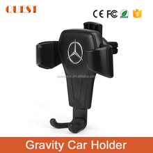 Fashionable gravity Auto lock metal car mount G-Sensor phone holder 2018