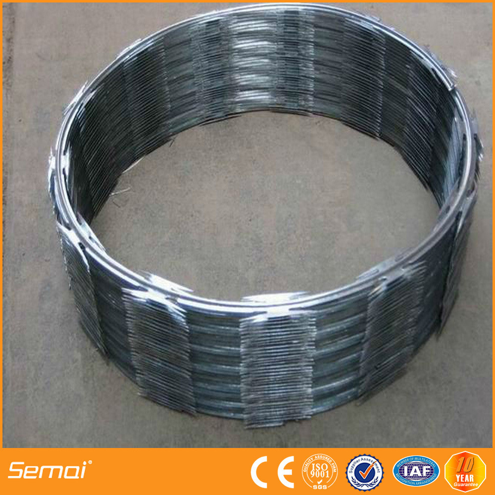 CBT-65 barbed razor wire installation manufacturer