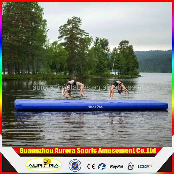 Customized Taekwondo Gymnastics Inflatable Mats PVC Inflatable Advertising Mats Factory Directly