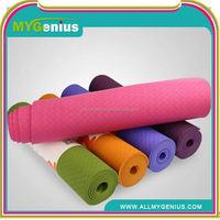 Eco tpe yoga mats ,JAaj tpe single layer yoga 6mm