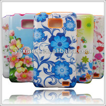 New fancy phone back cover case for samsung galaxy s2 i9100