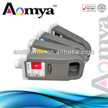 Zhuhai Aomya best selling printer ink cartridge for canon ipf 8100 9100 8110 9110 compatible ink cartridge 700ml 12color pfi 701