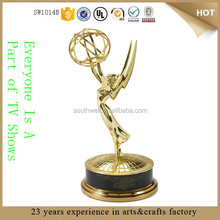 Guangzhou canton fair 2015 best selling high quality resin emmy award trophy