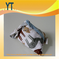 Cute Animal Deer Baby Pacifier Bag,Baby pacifier Triangle Bag