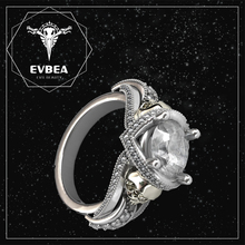 EVBEA Best selling low price cheap wholesale diamond skull rings for women jewelry
