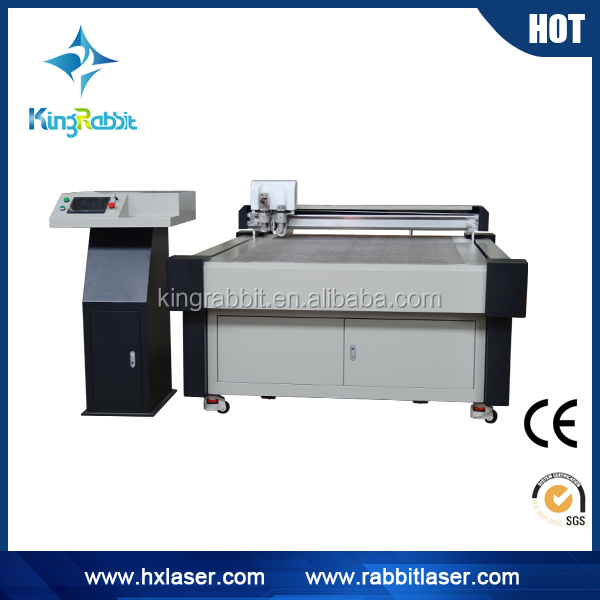China supplier CNC ocsillating leather punching corrugated carton making machine