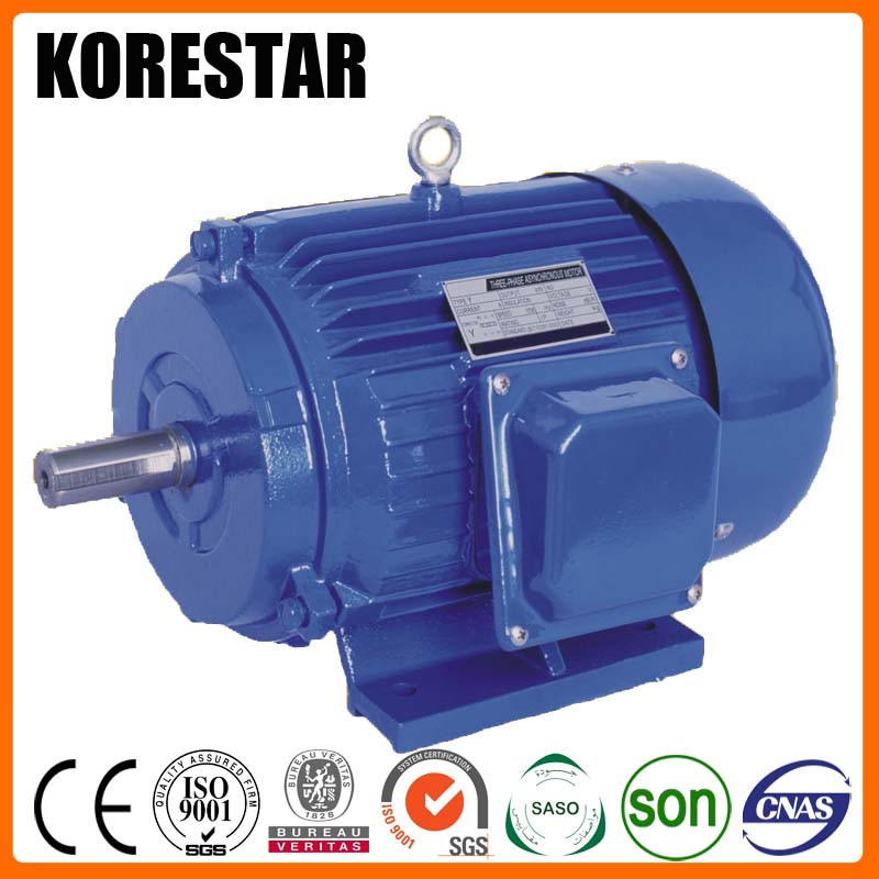 Korestar Y160L-2 18.5KW 25HP electric induction ac motor 380 volt