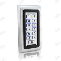 Factory Stainless steel keypad with LED door access
