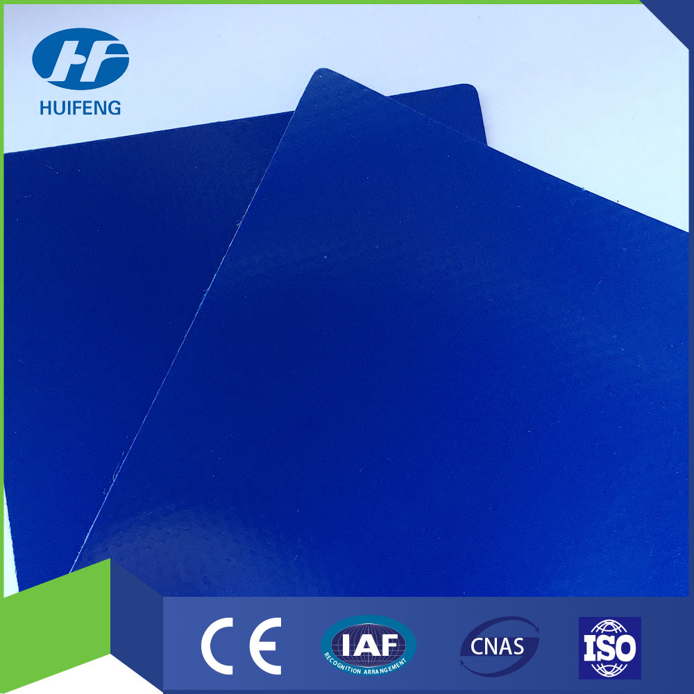 PVC Knifed Coated Truck Cover 1000D*1000D 20*20 650g Blue Color