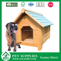 outdoor YOCAN bamboo dog house